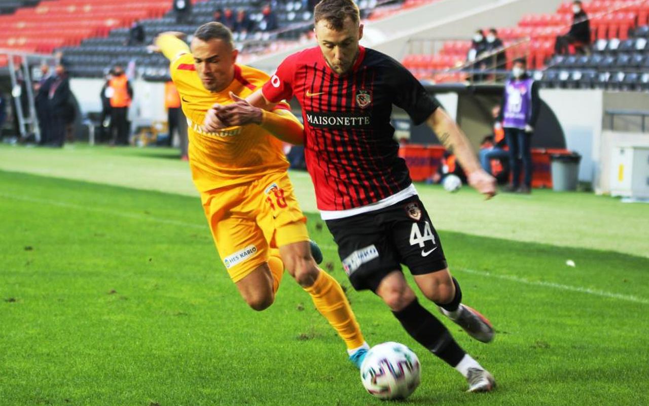 Gaziantep FK- Kayserispor maç sonucu: 2-1