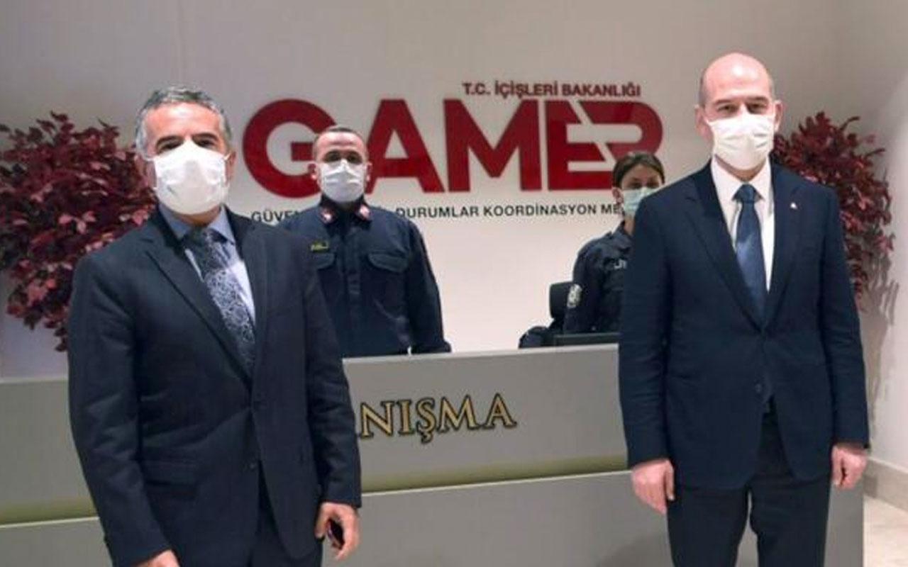 İçişleri Bakanı Süleyman Soylu teknoloji üssü GAMER'i Hakan Çelik'e anlattı