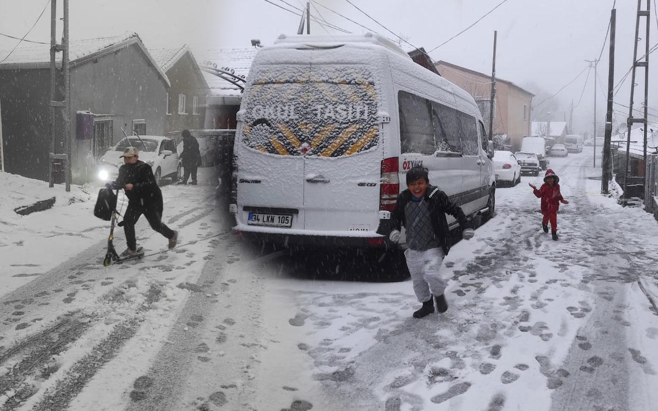 Meteoroloji uyarı geçti İstanbul için 5 günlük tahmin paylaştı kar yağışı başladı