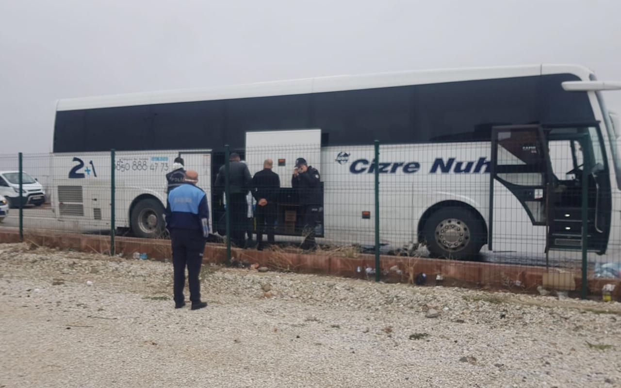 Kırşehir'de yolcu otobüsü şoförü kalp krizinden öldü