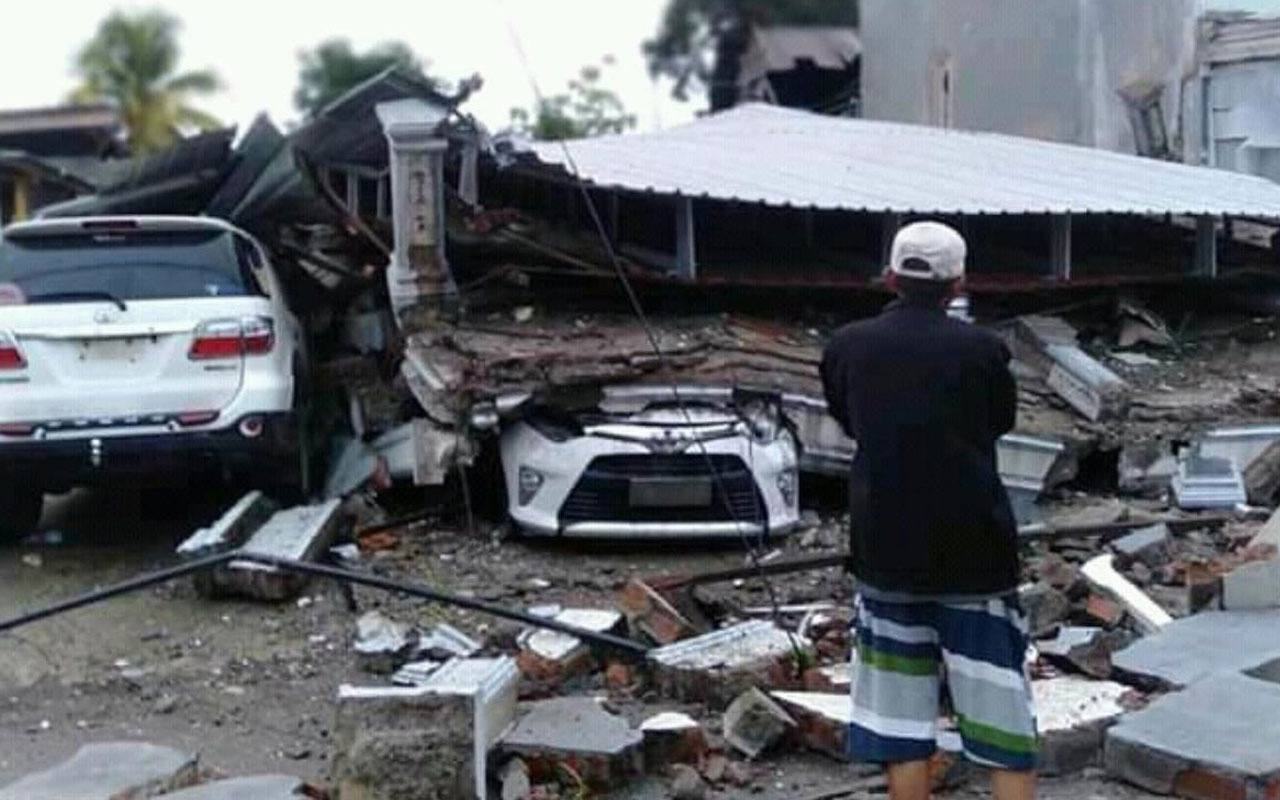 Bilanço ağırlaşıyor! Endonezya'daki depremde ölenlerin sayısı 56'ya yükseldi