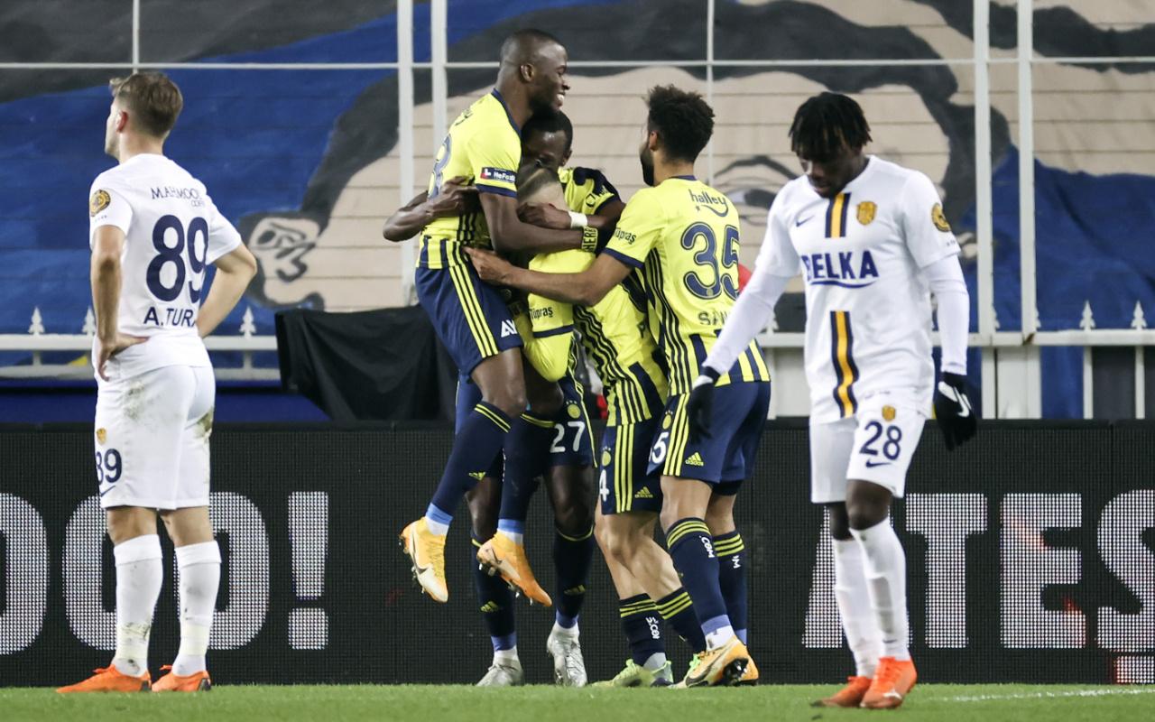 Fenerbahçe Ankaragücü maçı golleri ve geniş özeti