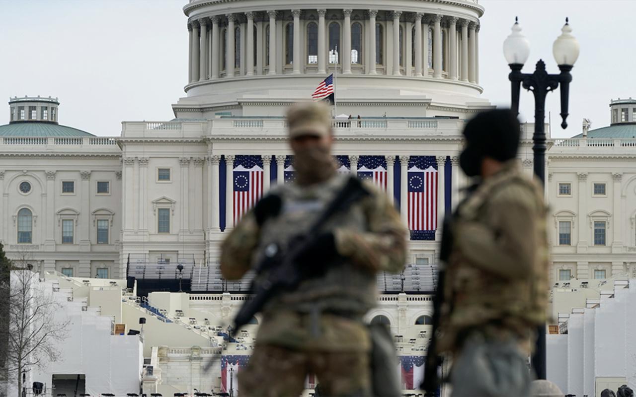 """Joe Biden'ın yemin törenine """"içeriden saldırı"""" endişesi: 25 bin Ulusal Muhafız'a güvenlik soruşturması"""