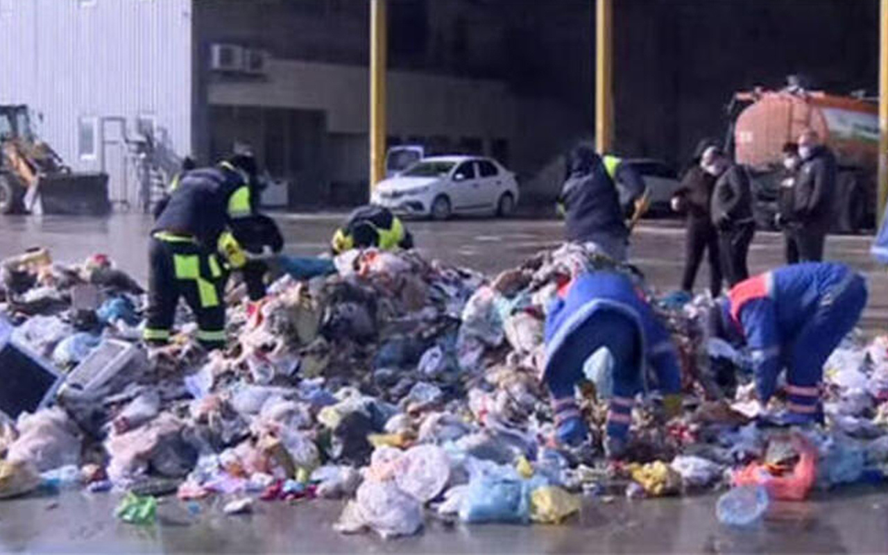 İstanbul'da belediye harekete geçti! Çöpte didik didik arıyorlar
