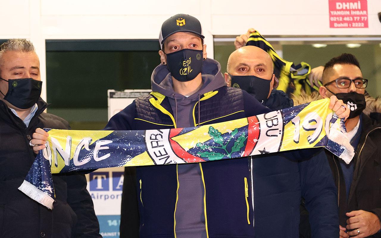 Mesut Özil, Fenerbahçe'ye geldi dünyada yer yerinden oynadı