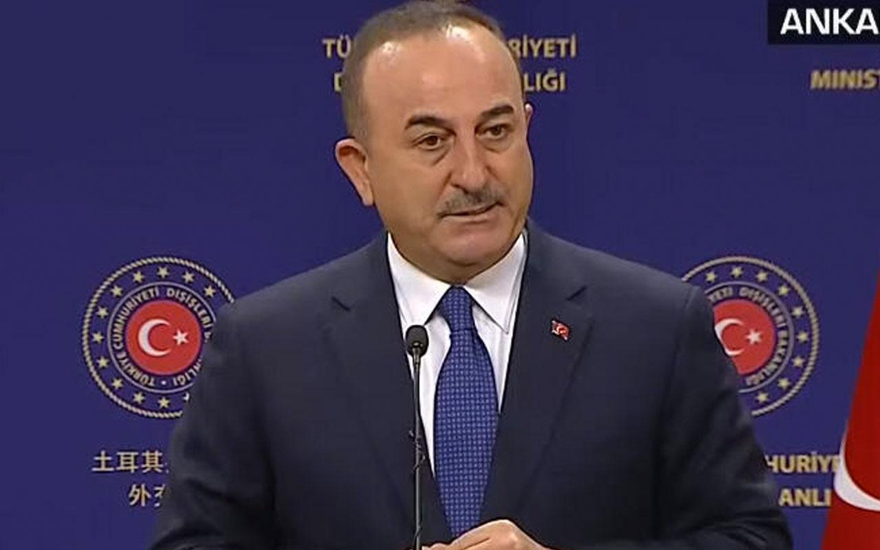 Bakan Çavuşoğlu'ndan önemli açıklamalar! Yaptırımlardan korkmuyoruz