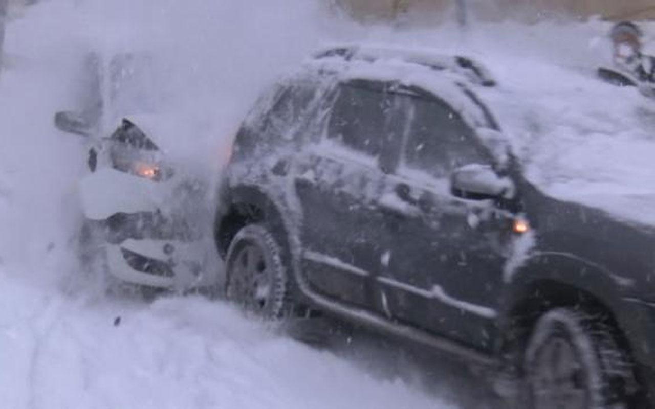 İstanbul'da yollar buz pistine döndü! İşte yaşanan kazalar