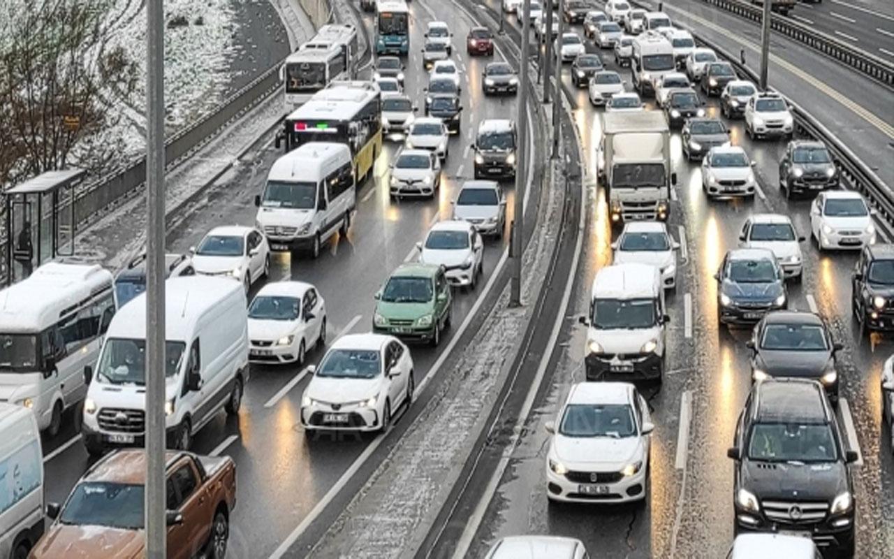 Sabah rekor kırmıştı! İstanbul trafiğinde son durum