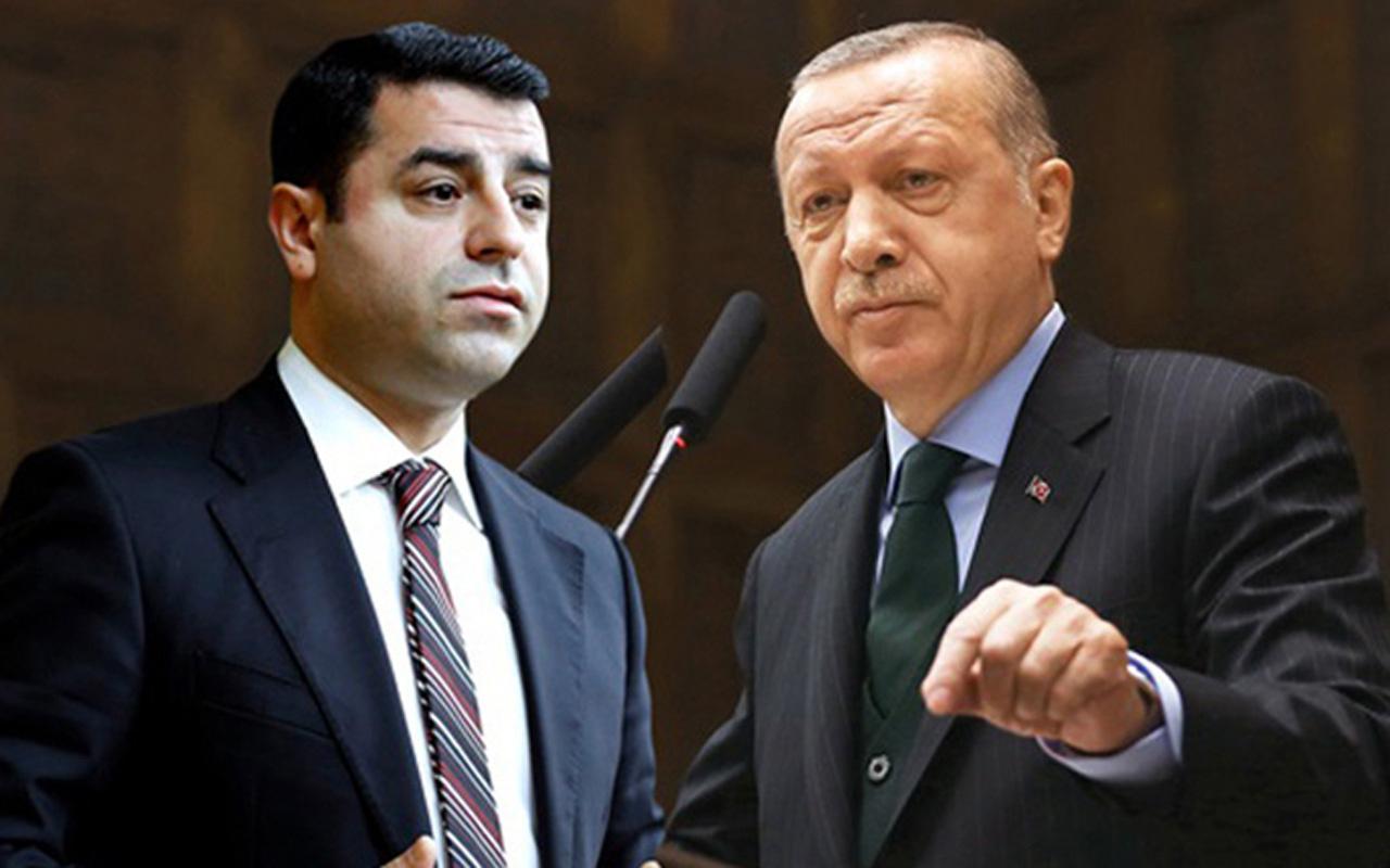 """Demirtaş'ın avukatından olay iddialar! """"Ankara Başsavcılığı Erdoğan'ı gizli sanık yapmış"""""""