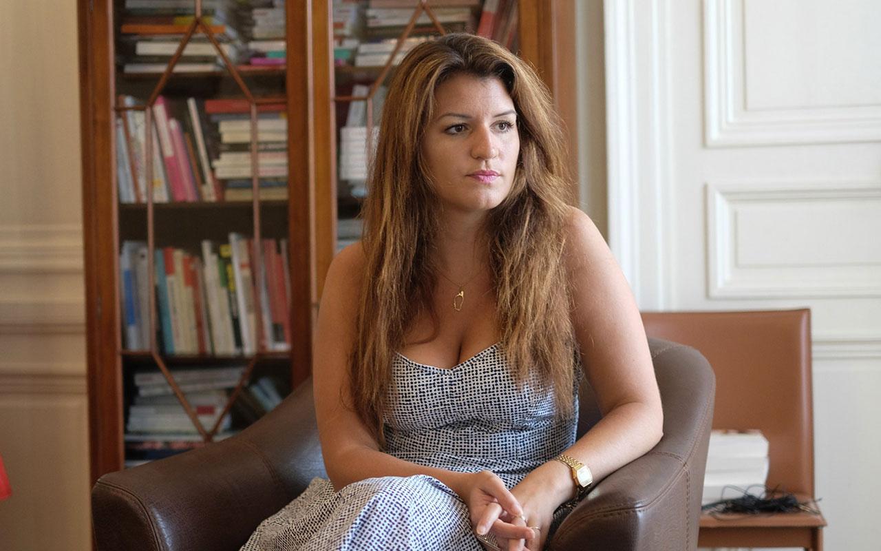 Fransız Bakan Schiappa'dan skandal başörtüsü sözleri! Müslüman çocukları hedef aldı
