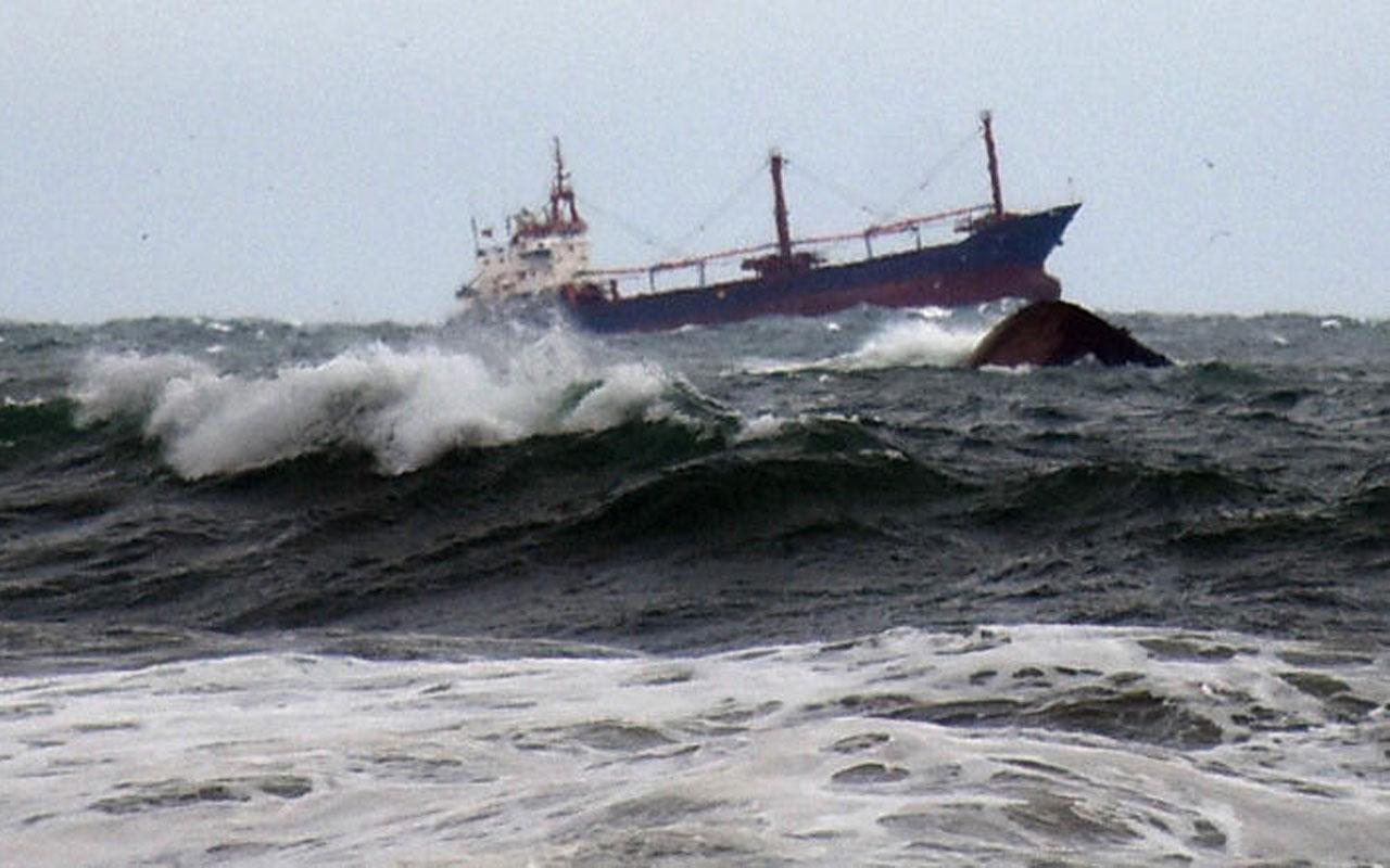 Karadeniz'de batan kuru yük gemisi! 3 kişiyi arama çalışmaları sürüyor
