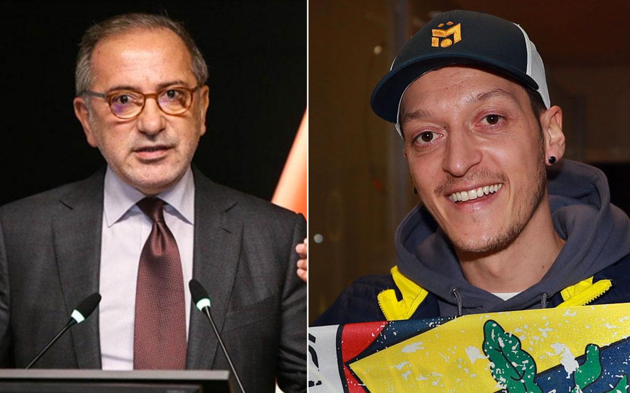 Fatih Altaylı: Mesut Özil'i Fenerbahçe mi transfer etti yoksa bir siyasi parti mi?
