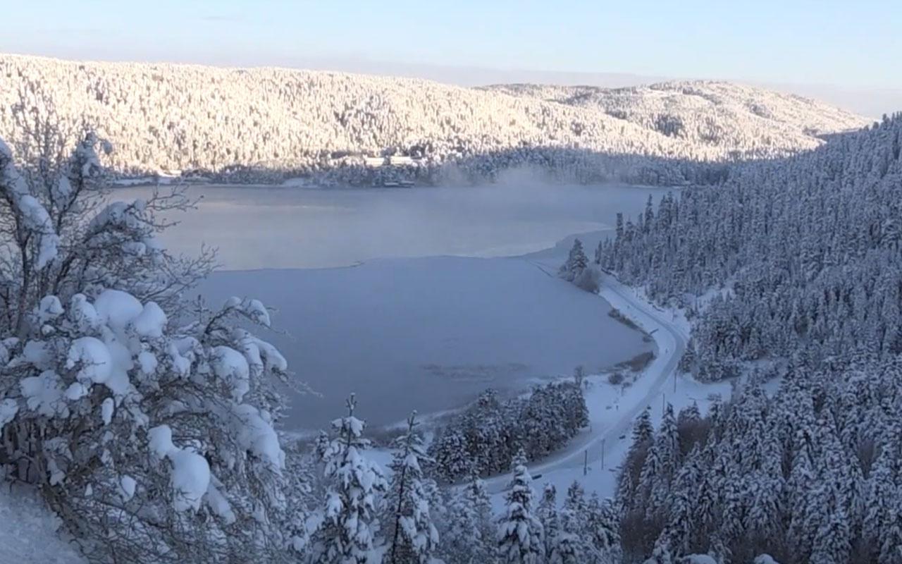 Eksi 32 dereceyi gördü! Türkiye'nin en soğuk ili Bolu oldu