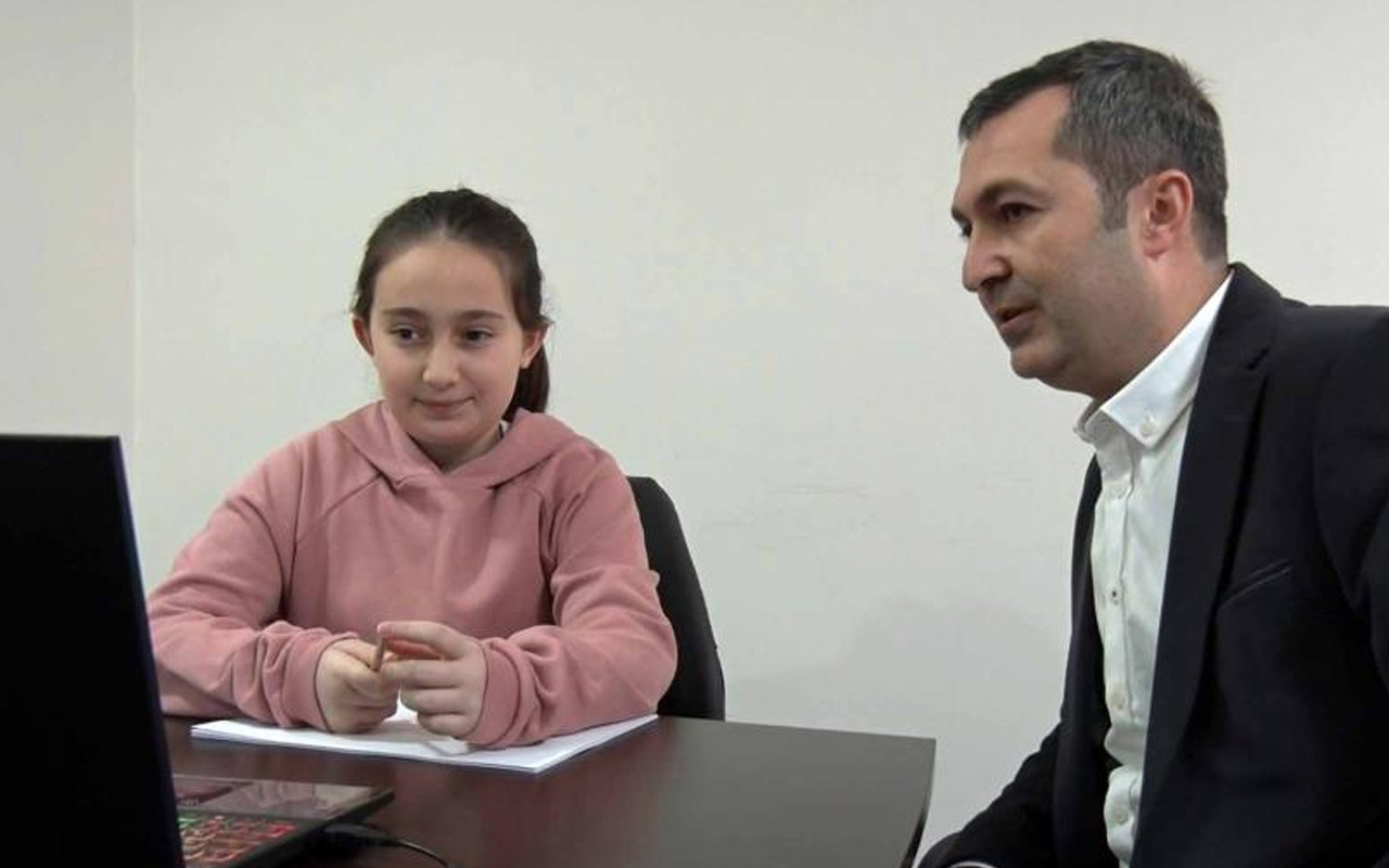 Bu kez dünya birincisi Samsun'dan! 5. sınıf öğrencisinden matematikte uluslararası başarı