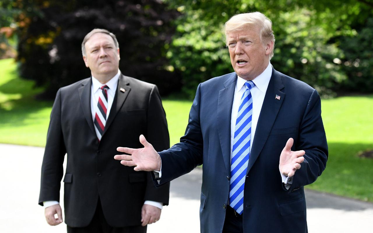 İran görevinin son gününde ABD Başkanı Trump'ı yaptırım listesine aldı