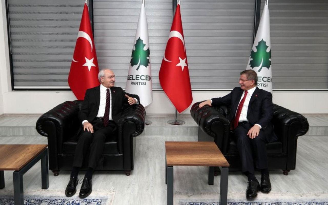 Kemal Kılıçdaroğlu'ndan Davutoğlu'na 'geçmiş olsun' ziyareti