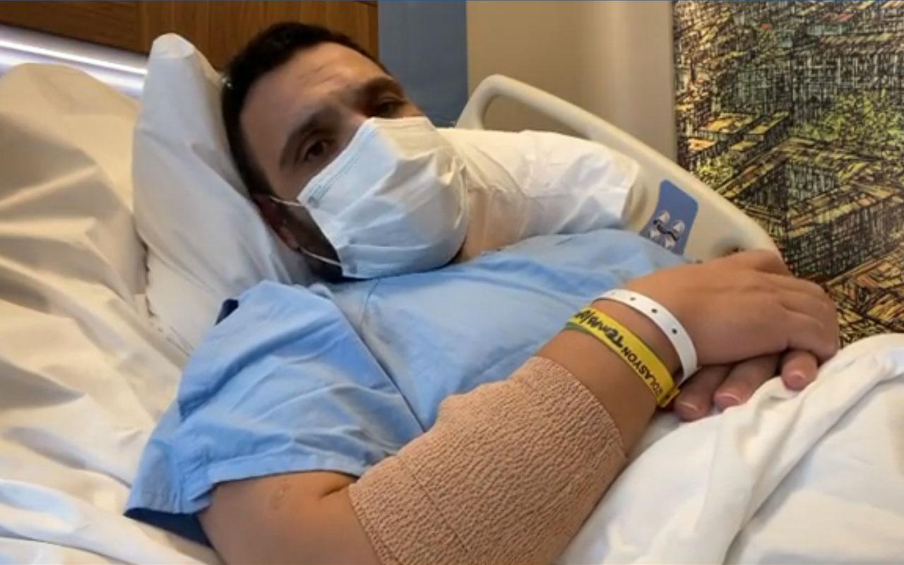 Okan Karacan koronavirüse yakalanmıştı sağlık durumunu ağlayarak anlattı