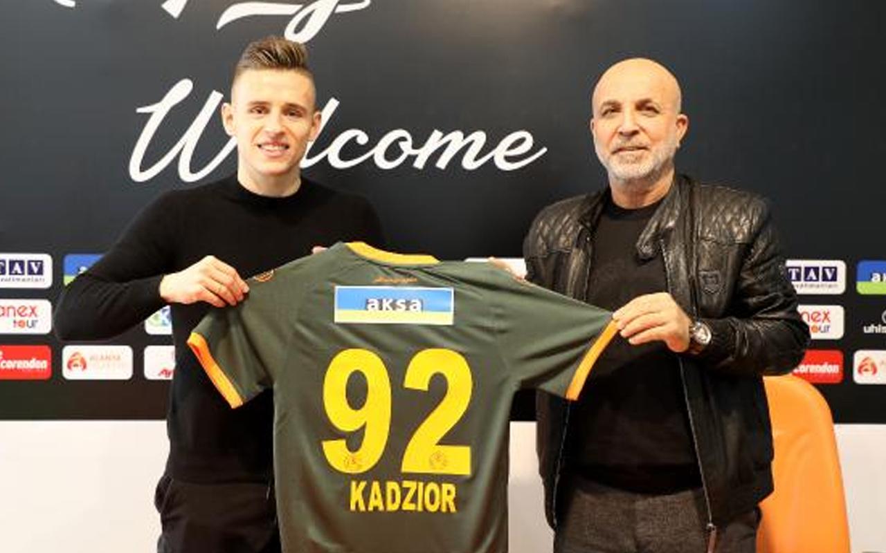 Aytemiz Alanyaspor Damian Kadzior'u transfer etti