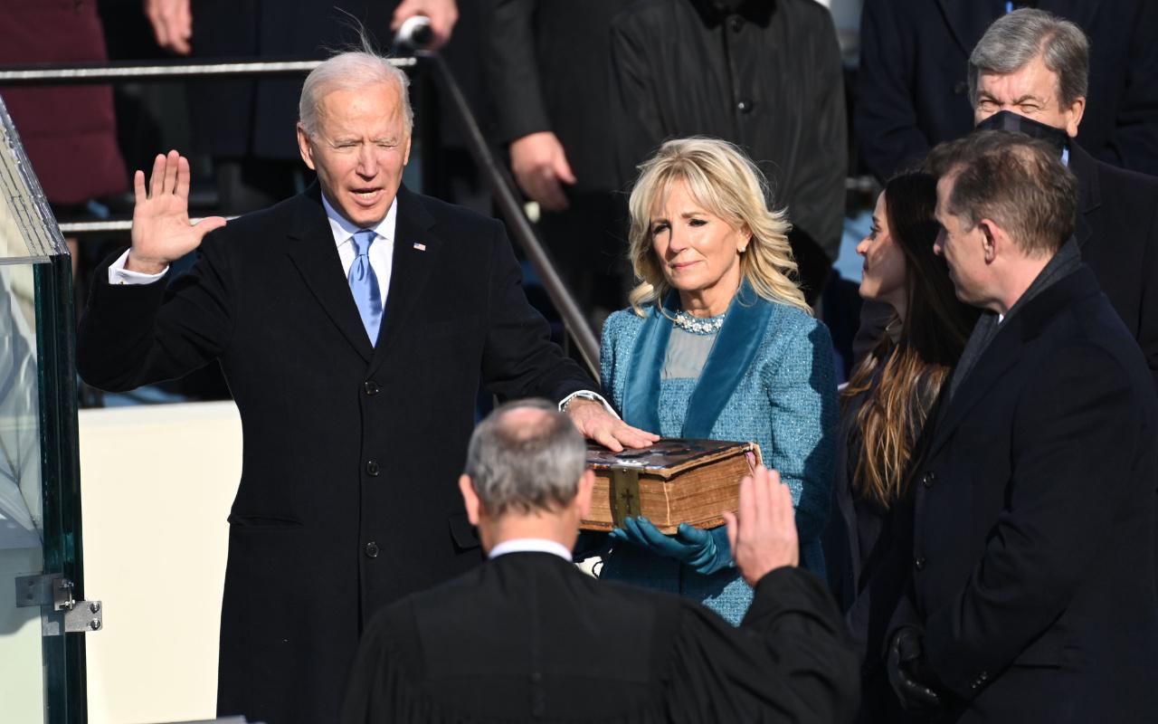 Yeni ABD Başkanı Joe Biden yemin ederek görevine başladı