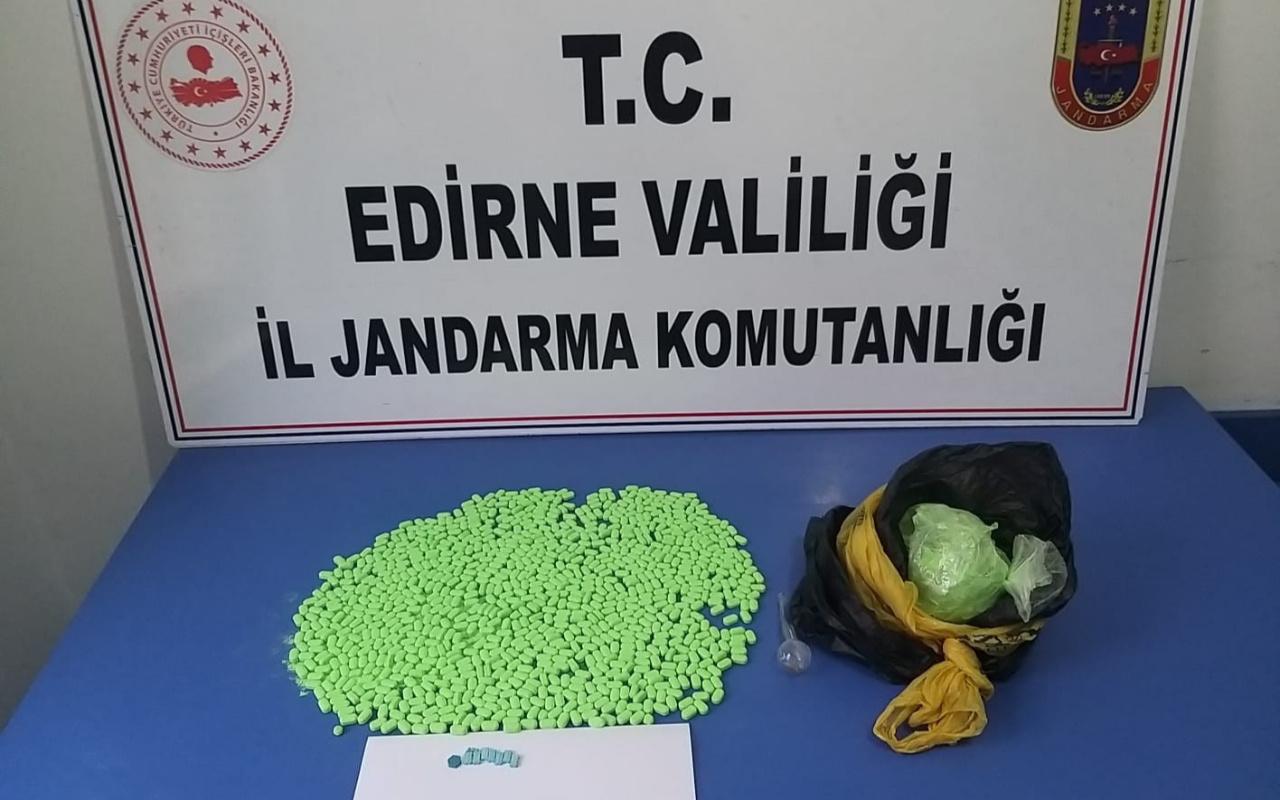 Edirne'de ele geçirildi! Piyasa değeri 4 milyon TL