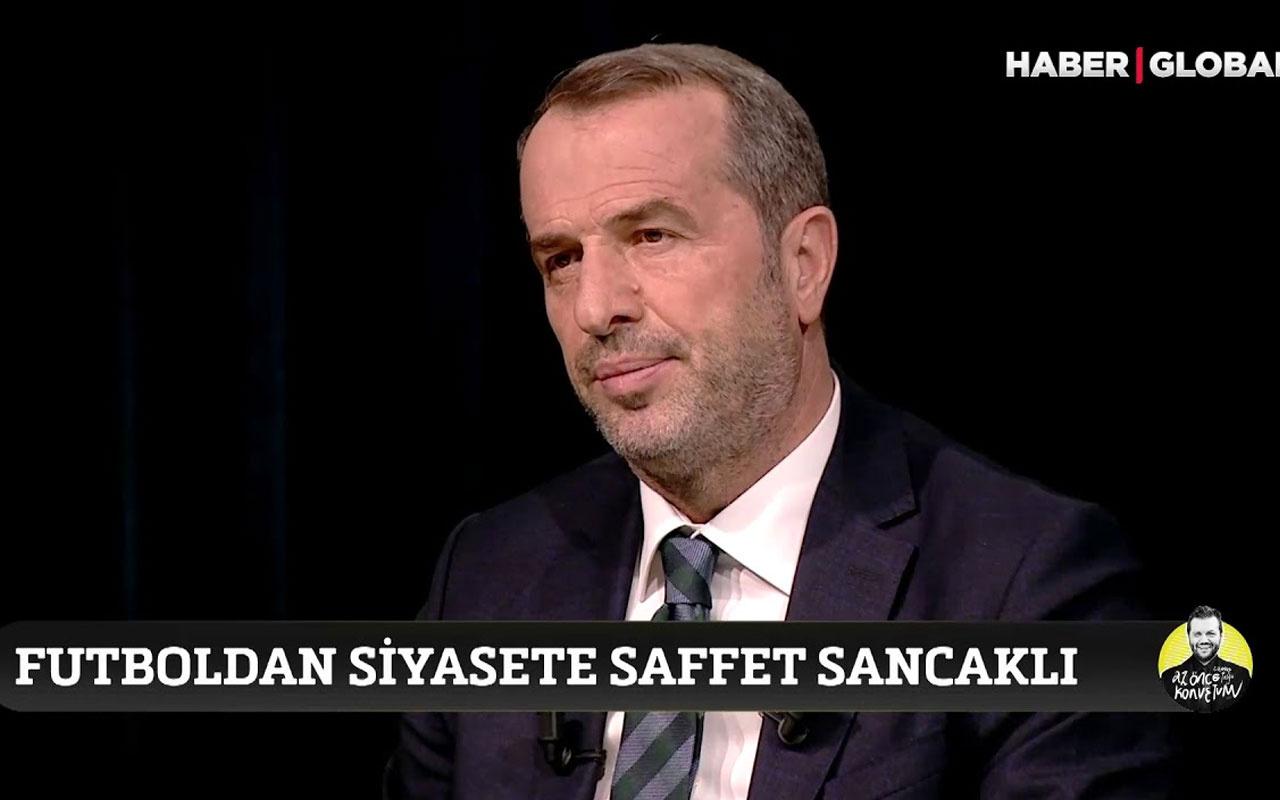 Saffet Sancaklı TFF başkanlığı sorusuna yanıt verdi