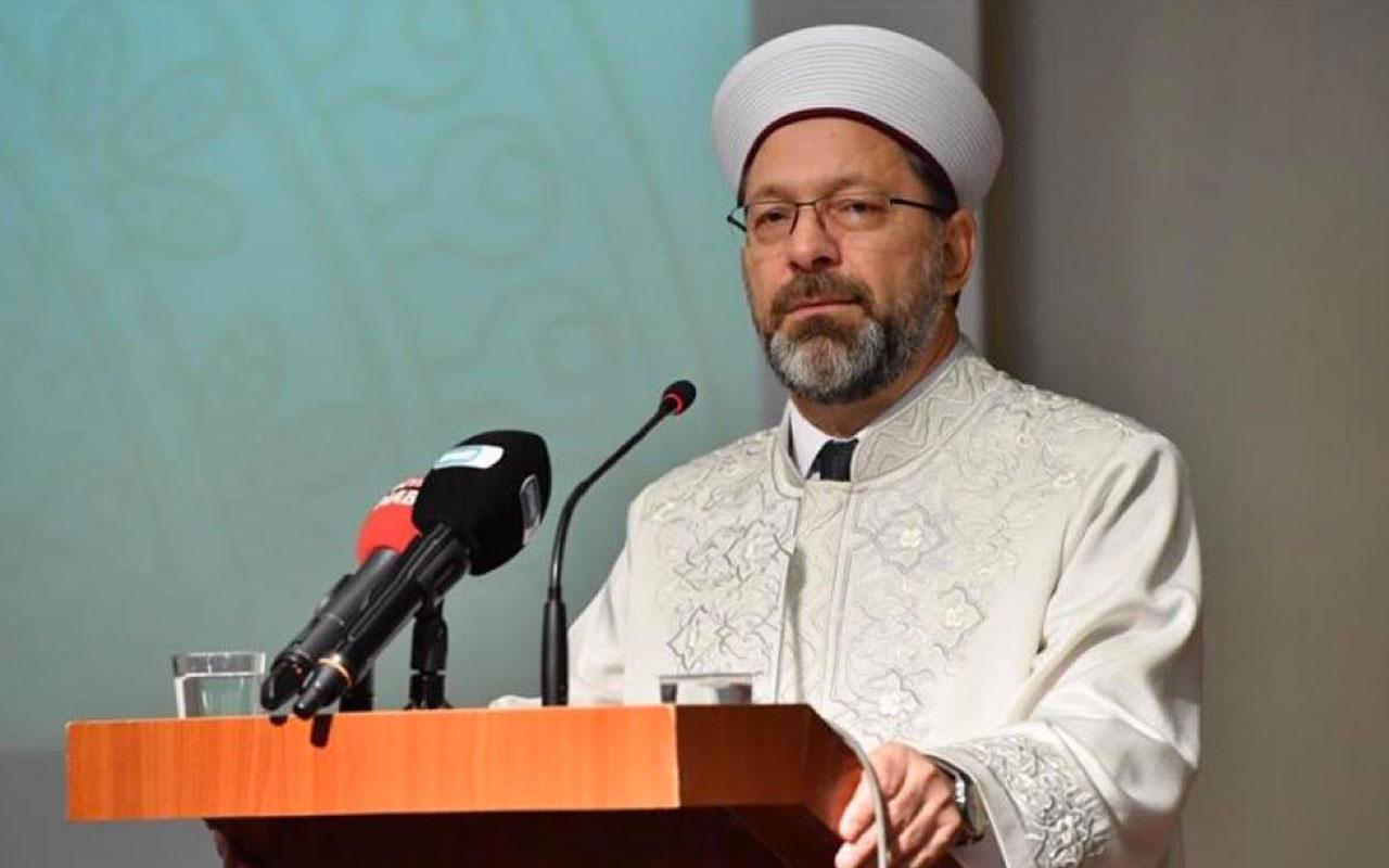 Diyanet Başkanı Erbaş: İdeal toplum için din hizmetlerini en ileri seviyeye getirmek zorundayız