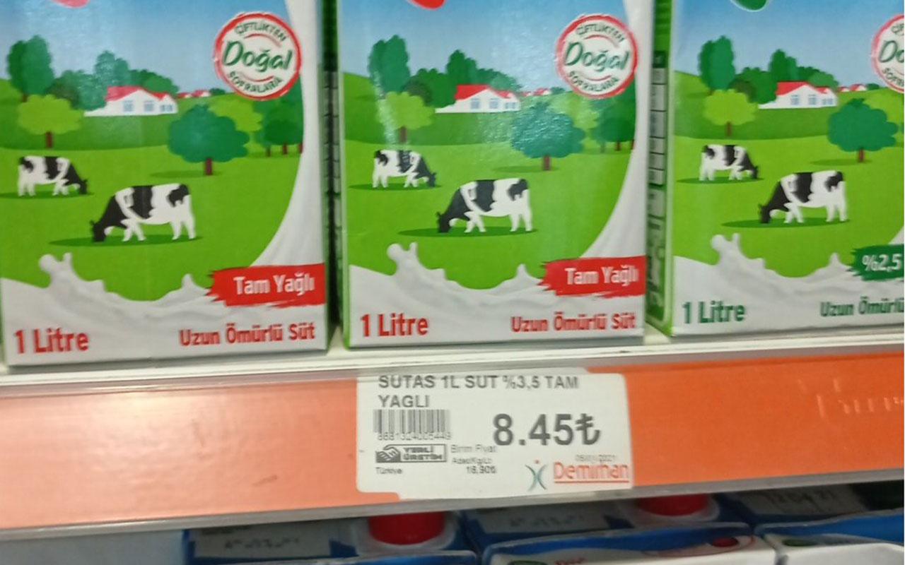 Sütte büyük vurgun! Üreticiden 2.5 liraya satın alınan süt markette 9 lira