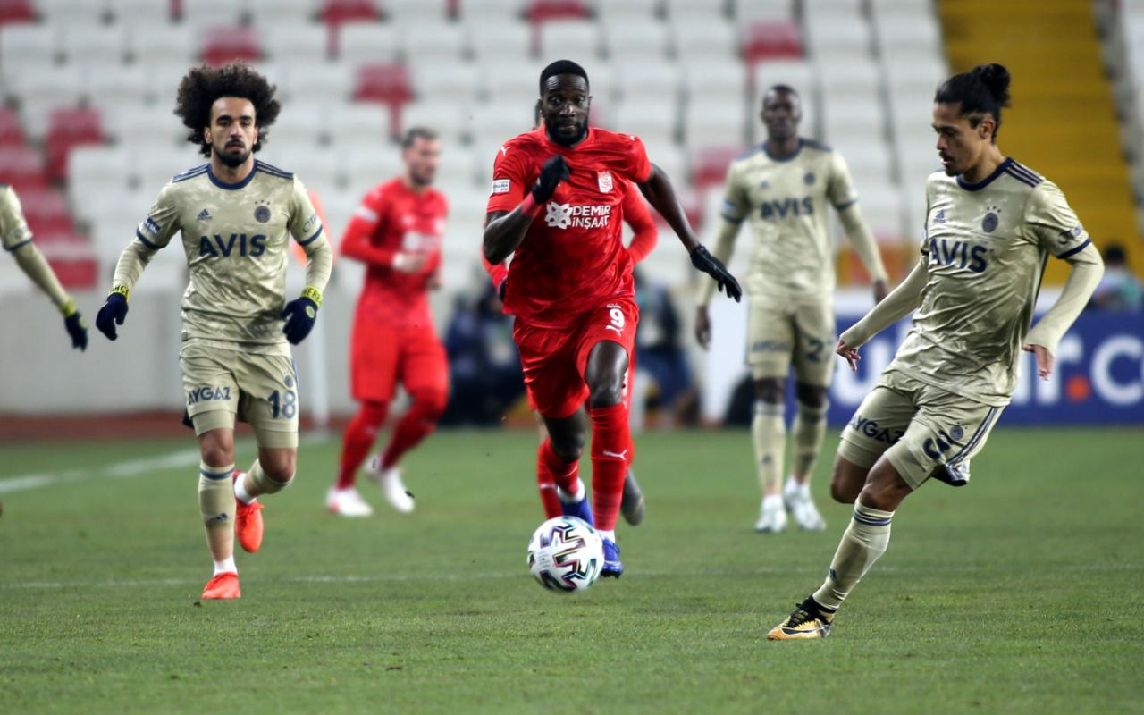 Sivasspor Fenerbahçe maçı golleri ve geniş özeti