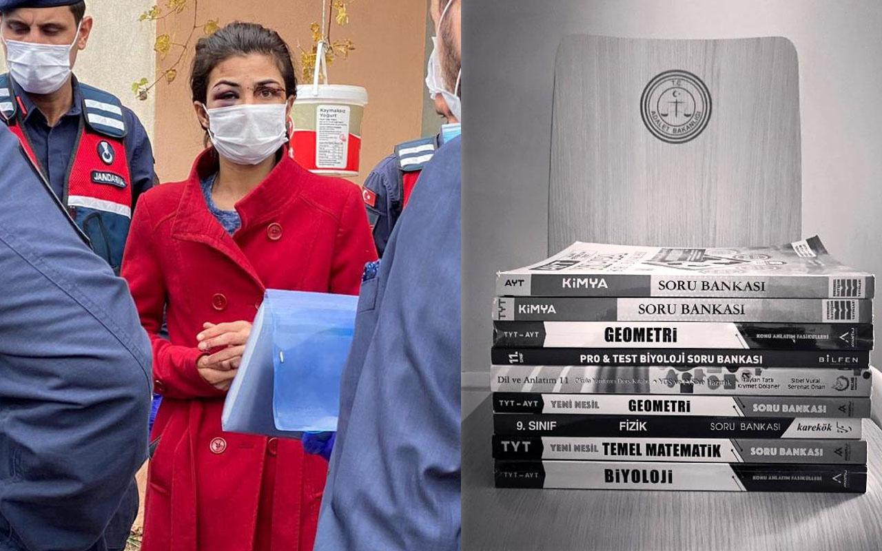 Antalya'da işkenceci eşini öldürmüştü! Melek İpek üniversiteye hazırlanıyor