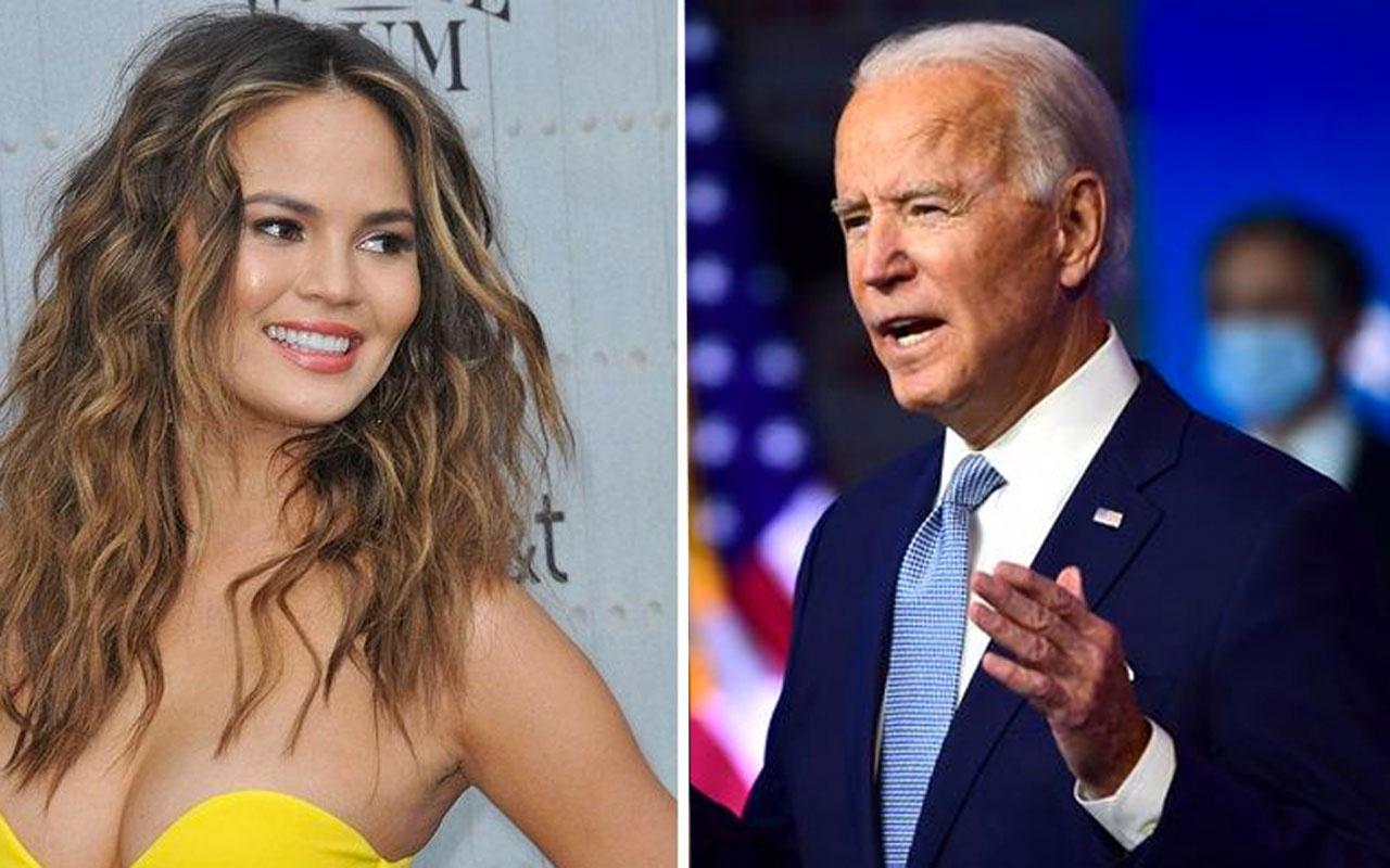 Joe Biden, başkanlık hesabından Chrissy Teigen'i takip etmeye başladı