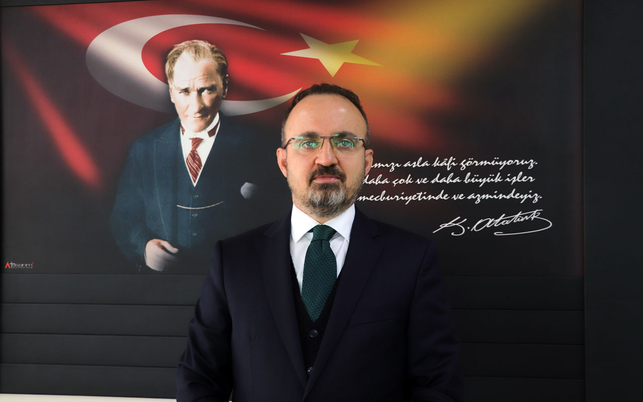 AK Partili Bülent Turan CHP'nin mektup siyasetini eleştirdi