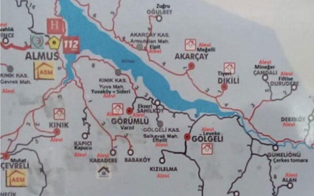 Tokat'ta Alevi köyleri haritada fişleyen doktor ortalığı karıştırdı! Soruşturma başladı