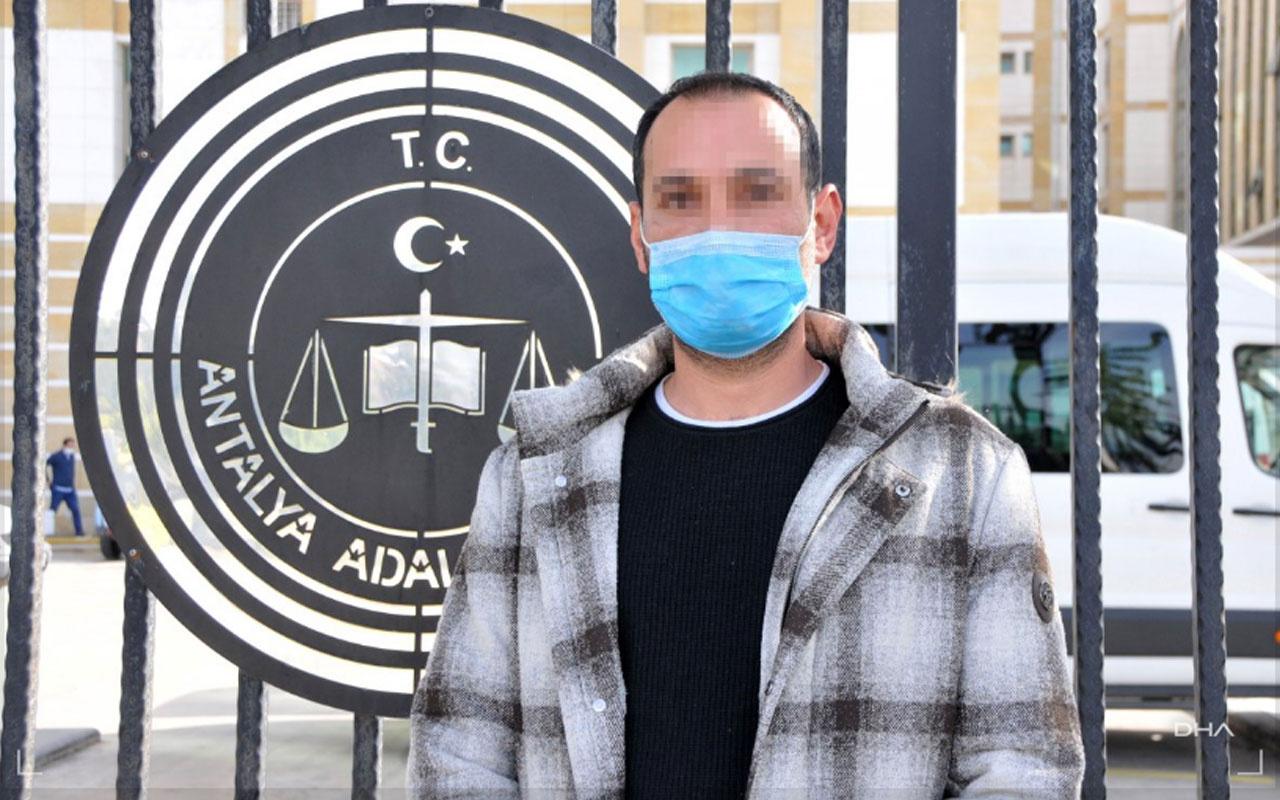 Antalya'da 'kızına tecavüz ediyorum' denmişti sokakta dövdüler