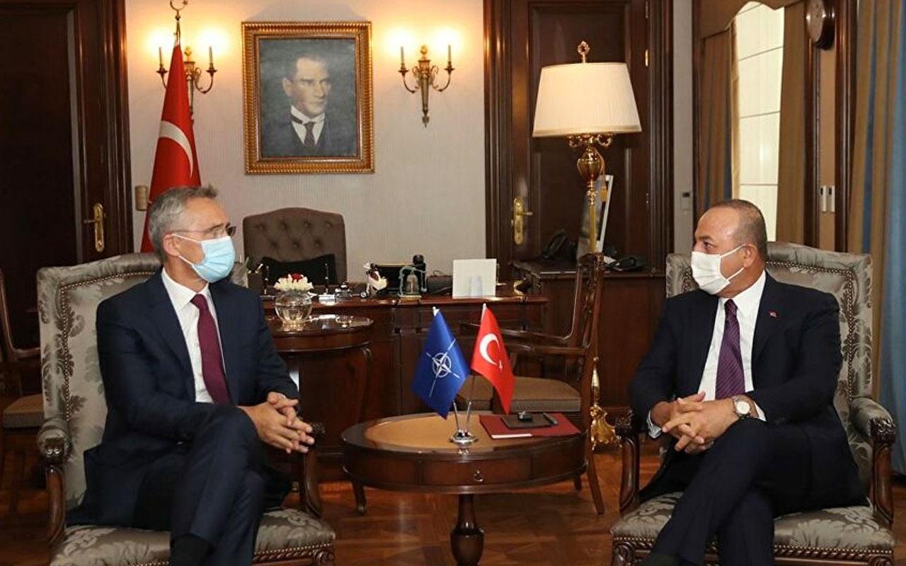 Bakan Mevlüt Çavuşoğlu, NATO Genel Sekreteri Stoltenberg ile görüştü