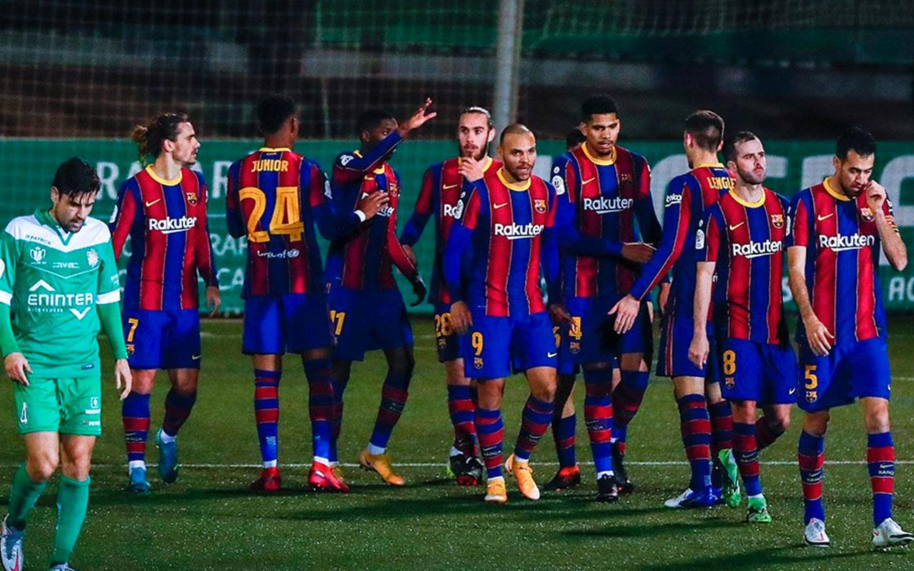 Barcelona Kral Kupası'nda sürprize izin vermedi
