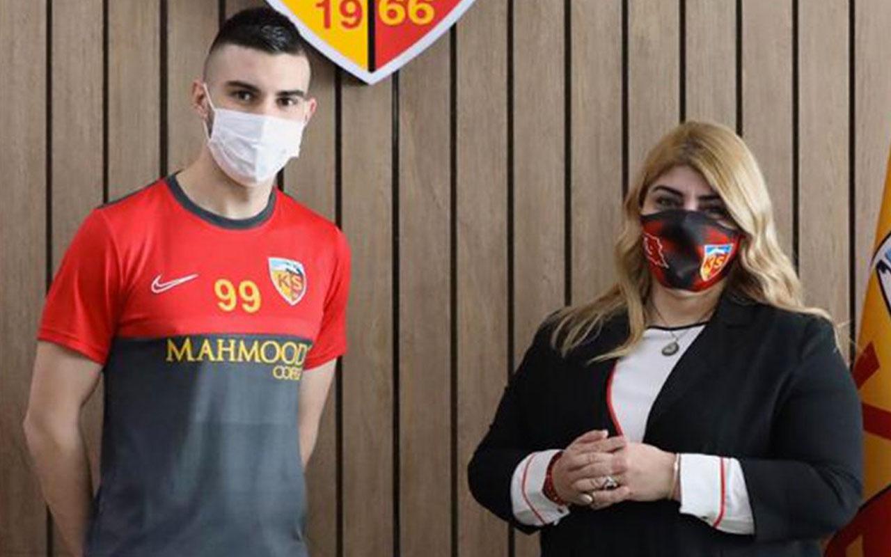 Hırvat golcü Antun Maglica Kayserispor'da