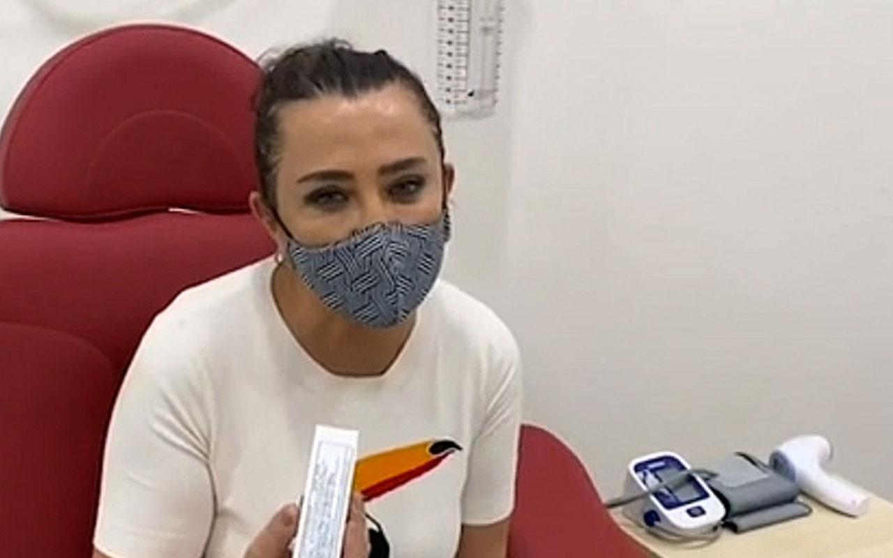 Koronavirüs aşısı olan Sevilay Yılman: Şu anda kendimi çok kötü hissediyorum