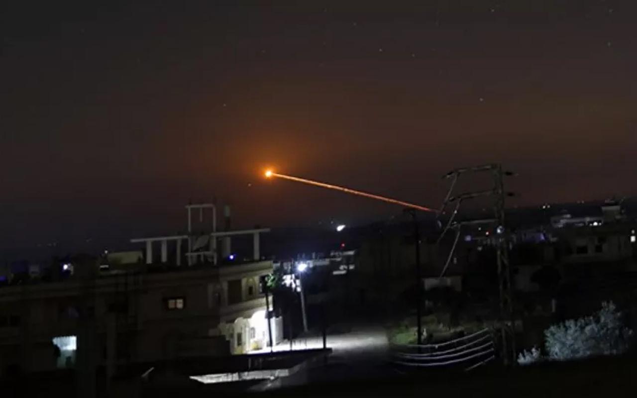 İsrail Suriye'ye saldırdı! Hava savunma sistemleri devrede