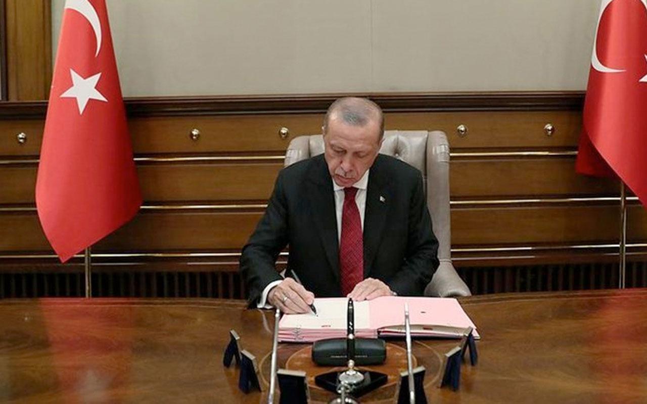 Atama kararları Resmi Gazete'de yayımlandı Cumhurbaşkanı Erdoğan imzaladı