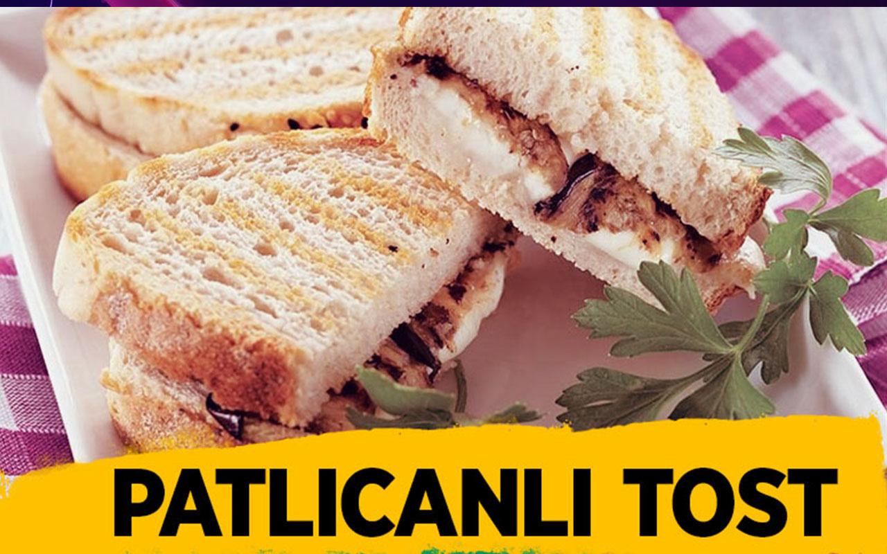Patlıcanlı tost nasıl yapılır bu lezzete bayılacaksınız!