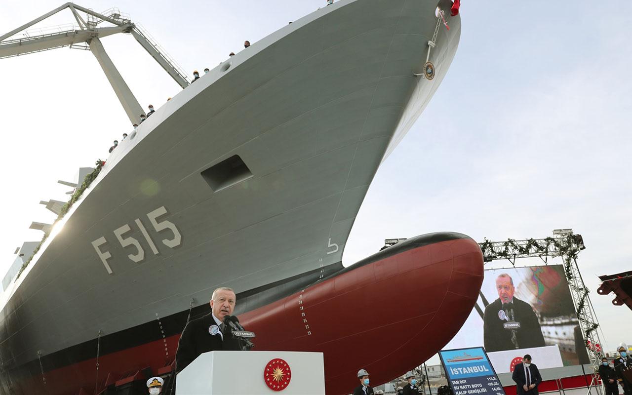 Son dakika! Cumhurbaşkanı Erdoğan duyurdu yerli ve milli uçak gemisi müjdesi