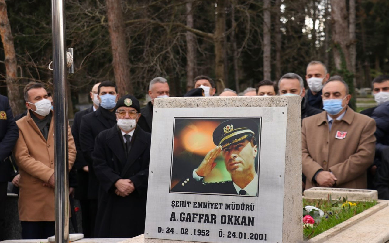 Ali Gaffar Okkan, mezarı başında anıldı