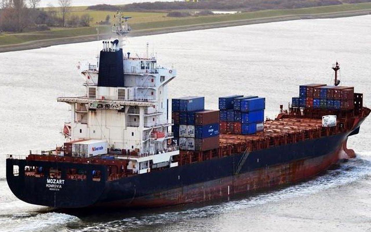 Nijerya'da korsan saldırıya uğrayan Türk gemisi ile ilgili son durum! Liman'a ulaştı