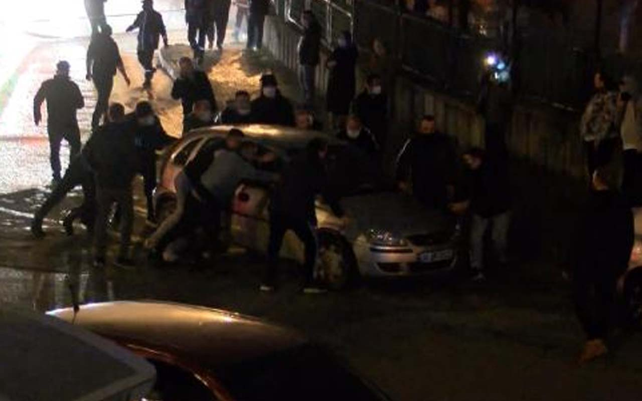 Maltepe'de yangın korkuttu: Mahalleli geri dönüşüm deposu sahibine saldırdı