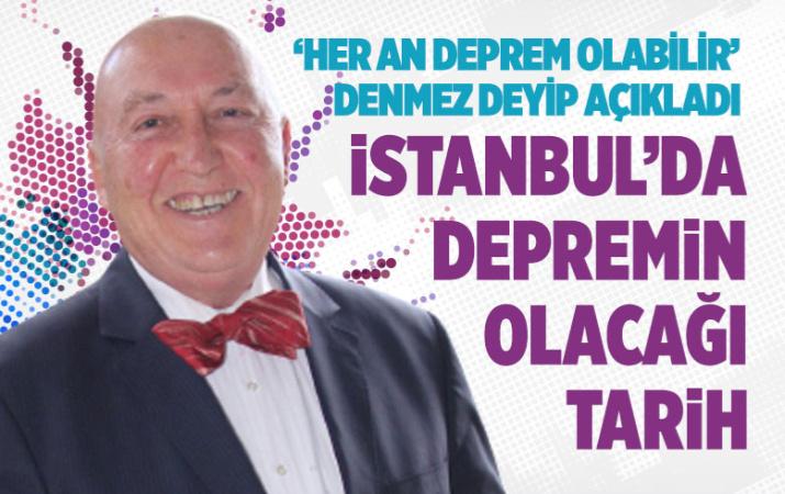 Prof. Dr. Ahmet Ercan büyük İstanbul depreminin olacağı tarihi açıkladı!