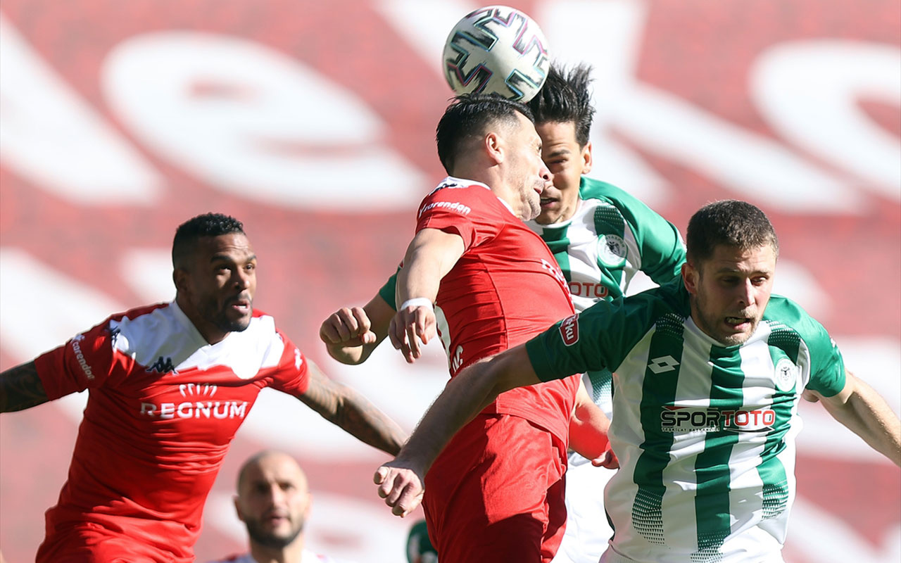 Konya'da gol sesi çıkmadı! İttifak HoldingKonyaspor: 0 - Fraport TAV Antalyaspor: 0