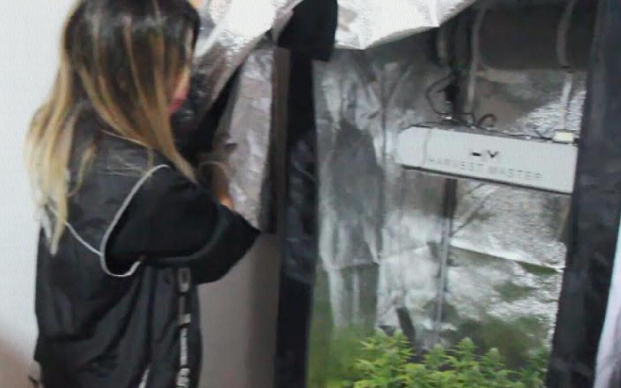 İzmir'deki uyuşturucu operasyonunda polisi şaşkına çeviren düzenek