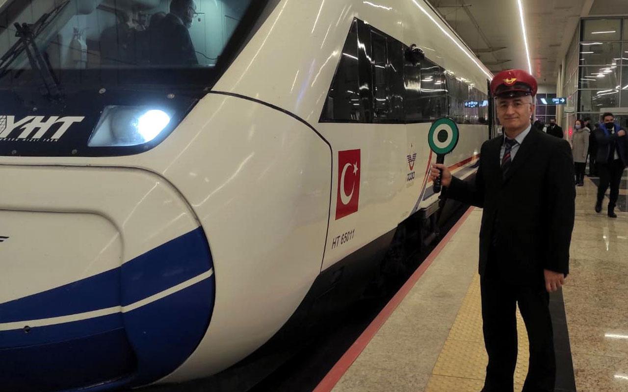 Ankara-Sivas YHT hattında performans testleri başladı