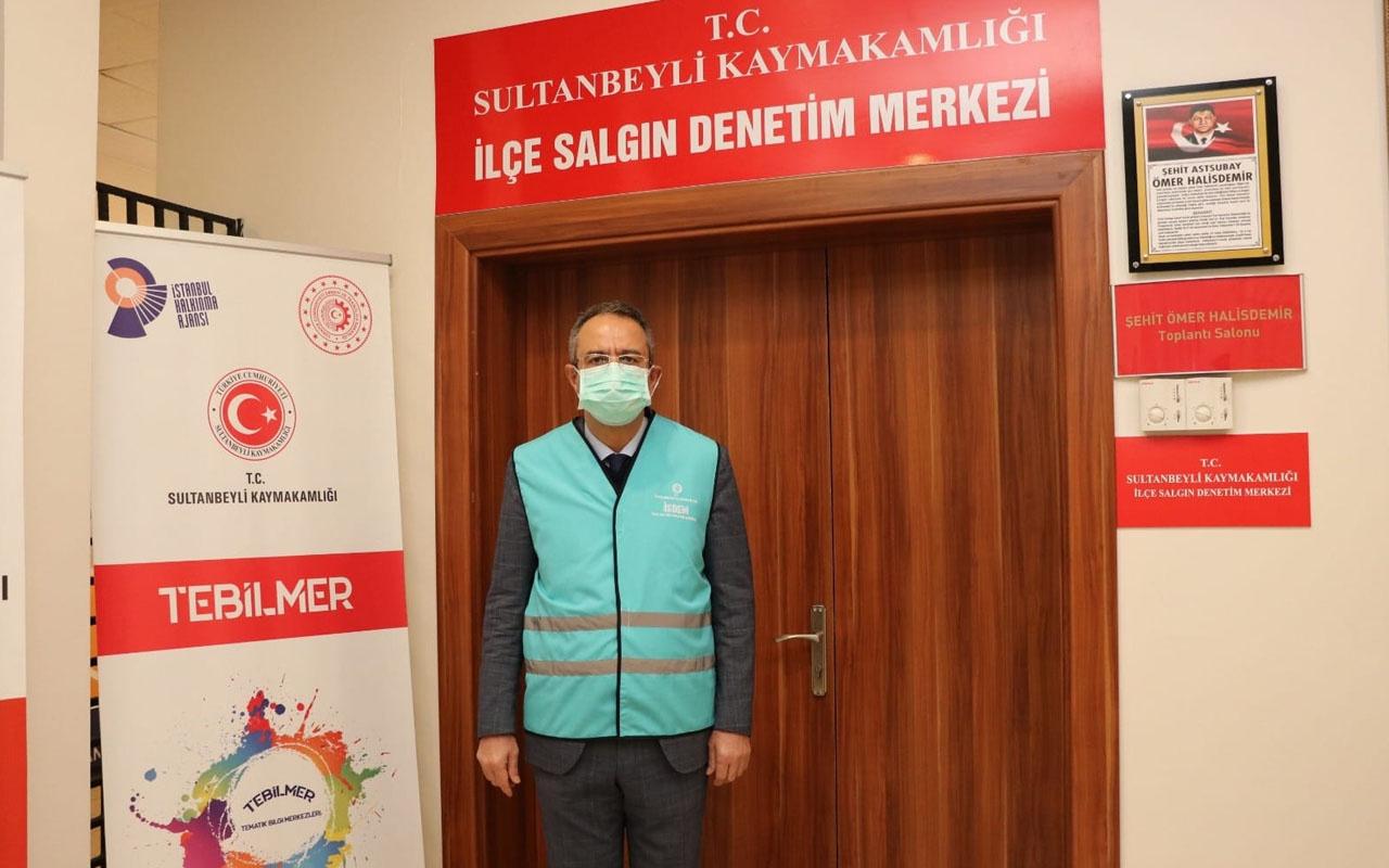 Sultanbeyli İSDEM personeli büyük bir gayret ve fedakarlıkla görev yapıyor