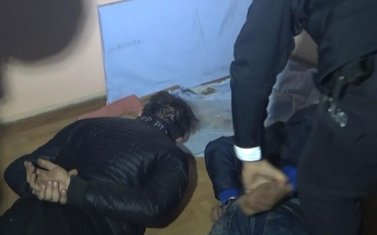 Bursa'nın Yıldırım ilçesinde komşular ihbar etti suçüstü yakalandılar